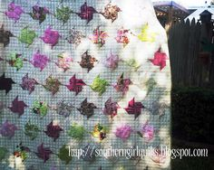 Southern Girl Quilts: tutorial Origami pinwheels