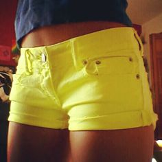 I love wearing yellow, especially in the summer. It makes me look so much more tanned than I actually am.