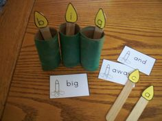 What a cute way to practice sight words and recycle at the same time!