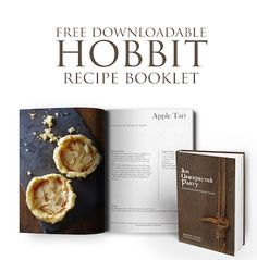 Explore the world of The Hobbit with this twice baked honey cake recipe in hand.
