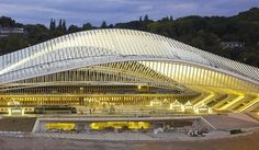 Santiago Calatrava's Liège Guillemins Trainstation - Belgium