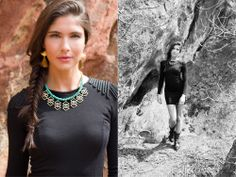Lookbook images for the new Mountain Summer collection