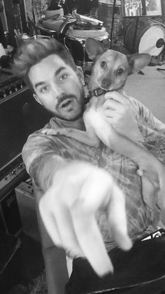 Adam and Pharaoh were at the studio