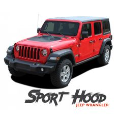 3M AUTOMOTIVE JEEP WRANGLER  JK HOOD BLACKOUT  WITH HARDWARE CUT OUTS 2007 2012