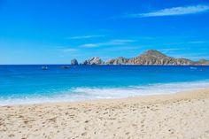 Medano Beach and Land's End in Cabo San Lucas, Mexico.