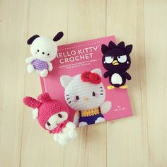 It's exactly a week before the release of Hello Kitty Crochet! Who is your favourite Sanrio character and will the cutie make it into the book?