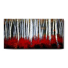 Showcasing a forest motif, this artful indoor/outdoor canvas print is a charming addition to your foyer or three-season porch.   Pr...