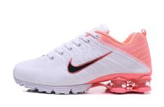 Nike Air Shox Flyknit White Pink Black Shox Women's Athletic Running Shoes How should the right shoe choice be? What should be considered for foot h Mens Nike Shox, Nike Shox Nz, Mens Nike Air, Nike Men, Nike Air Max, Running Shoes Nike, Nike Shoes, Sneakers Nike, Women's Shoes