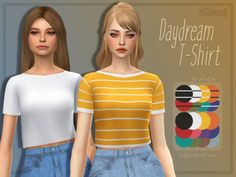 Daydream T-Shirt by Trillyke at TSR • Sims 4 Updates