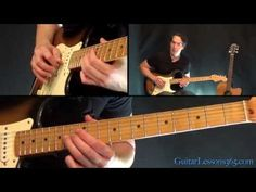 The Beatles - While My Guitar Gently Weeps Guitar Lesson - Solo - This works for electric guitar...which is not me...maybe it is what you want to try. I also have a tutorial on this board with the background acoustic guitar tutorial...which is totally me!