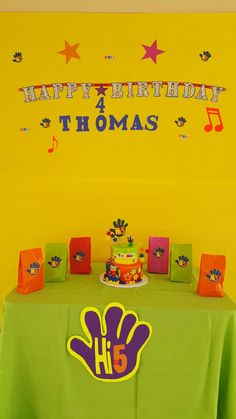 5th Birthday Party Ideas Baby First Themes Hi Five House