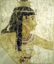 Isis - Greco-Roman era painted image on a linen and tempera shroud - c. 300-200 B.C. - Metropolitan Museum of Art