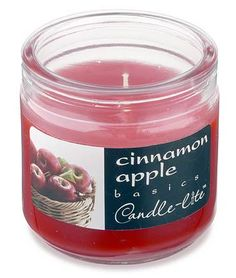 Cinnamon Apple Scented Candle