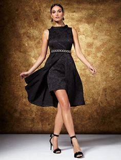 Shop Eva Mendes Collection - Freya Dress - Jacquard. Find your perfect size online at the best price at New York & Company.