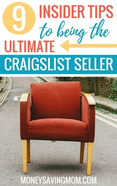 Make big bucks on Craigslist and become the ultimate seller with these super helpful tips! Earn Extra Cash, Extra Money, Work From Home Moms, Make Money From Home, Ways To Save Money, How To Make Money, Selling On Craigslist, Online Garage Sale, Life On A Budget