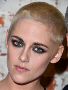 We're like butter now…   Literally Just 26 Pictures Of Kristen Stewart And Her Newly Shaved Head That You Can Stare At All Day