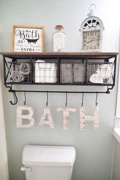 Bathroom Makeover Decor SW sea salt. Wall color