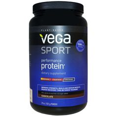 Vega Sport Performance Protein Chocolate, 29 Oz, Vega | Free Shipping
