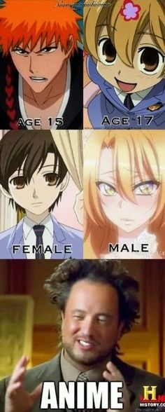 HAHHAHAHAAHAHAHHAHAHA The great world of anime