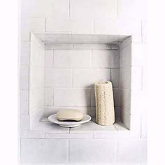 Planning a new shower? Carve out space for bath toiletries with a built-in niche.   Photo: Jürgen Frank   thisoldhouse.com