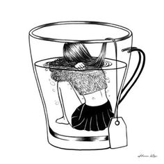 Image about art in ~Illustration~ by . Tattoo Painting, Henn Kim, Art Drawings Sketches, Badass Drawings, Hipster Drawings, Unique Drawings, Artsy Fartsy, Urban Art, Art Inspo