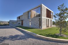 Built by Whitebox Architects in Athens, Greece with date 2013. Images by George Fakaros. The concept was the creation of a residence for a family of four - the parents with two children - and the possibilit...