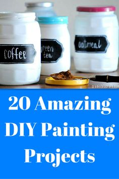 One of the easiest DIY projects? Paint it! Here's a little DIY inspiration to get started.