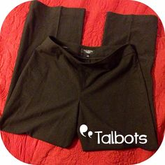 NWOT. Talbots Petites Dress Pants NWOT. Beautiful Talbots petite dress pants. Side zip. Perfect for the office. Talbots Pants Trousers
