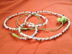 Braided headphones