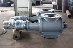 lubrication of rigid impeller feeder