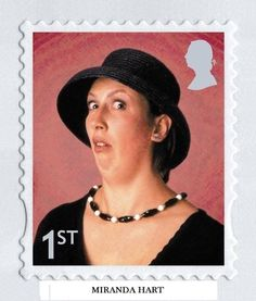 Miranda Hart... No words. If I had it my way this would be on every piece of post ever