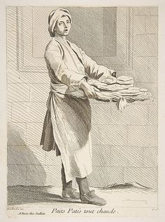 Pastry Seller, Paris, 1738,  Anne Claude Philippe de Tubières, Comte de Caylus  (French, Paris 1692–1765 Paris)