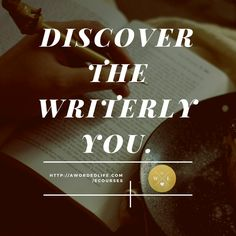 """""""When you're writing, you're conjuring. It's a ritual, and you need to be brave and respectful and sometimes get out of the way of whatever it is that you're inviting in the room."""" ~Tom Waits http://awordedlife.com/ecourses #discoverwriting #writingcourses #creativewriting #creativity #write"""