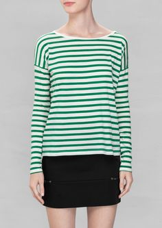 & Other Stories | Long-sleeved Cotton T-shirt