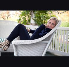 Laura McKittrick, The Greenwich Girl, at the Henkelmann Inn, wearing Gucci boots, Rag & Bone pants and a Vince cashmere sweater from Saks Fifth Avenue Greenwich. Greenwich Girl is a luxury lifestyle brand and digital magazine www.thegreenwichgirl.com