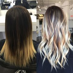 41 beautiful blends of balayage ombre hair colors for 2019 00035 – nothingideas Ombre Hair Color, Hair Color Balayage, Blonde Balayage, Balayage Highlights, Hair Colors, Gold Hair Dye, Dyed Hair, Look 2018, Hair Color Techniques