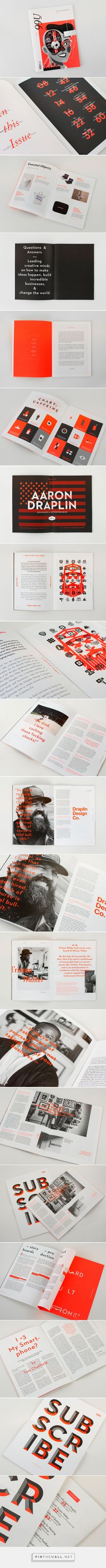 99U Quarterly — Issue 6 on Behance - created via https://pinthemall.net