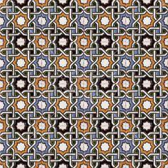 Moorish Arab Islamic Spanish Patterns Tiles