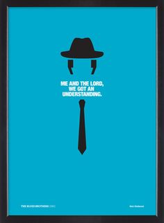 The Blues Brothers  Minimalistic Poster