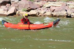 Duckie Fun.  Green River, Gates of Lodore