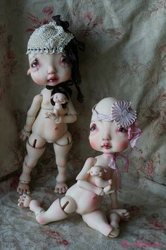 I am so in love with Nefer Kane's Humpty Doll that I have 2 on Pre-order!  Love them so much!