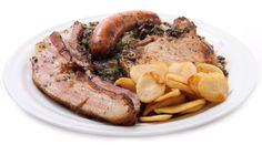 Gruenkohl und Pinkel - Kale and Sausage - North German Specialty