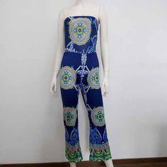 Knit Strapless Jumpsuit