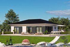 Das Haas BT 84 B Haus mit 84,52 m² ➤ Auswahl von kleinen Häusern findest Du beim Klicken auf das Bild sowie auf unserer Webseite ___ www.fertighaus.de ___ Hausbau aus einer Hand: Schnell, preiswert und von geprüften Anbietern. | Architektenhaus, modernes Fertighaus, Haustypen, Hausbau, Haus für Singles, kleines Haus einrichten, Eigenheim, Bauhausstil