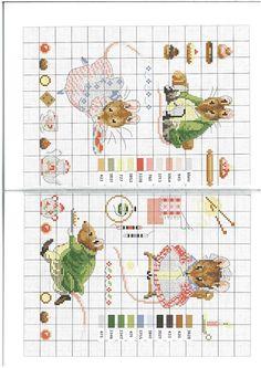 Cross-stitch Beatrix Potter, part 1 ...    Gallery.ru / Foto # 7 - Le monde de Beatrix Potter - Mongia