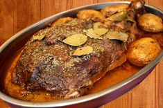 The smoky taste of Crockpot roast will always make you feel like it's the holiday season. Polish Recipes, Polish Food, Kitchen Hacks, Crockpot, Steak, Roast, Pork, Cooking Recipes, Ideas Para