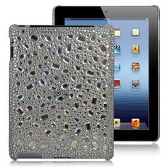 Dazzling case with rhinestone embellishments Molded from superior plastic with rhinestones for embellishment Large cutouts ensures ready access to all your gadget functions Ipad 3 Cases, Iphone Cases, Gadgets Online, Phone Shop, Cute Cases, Ipad 4, Information Technology, Rhinestones