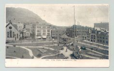 Johnstown, Pennsylvania Pa ~ City Park 1910s b/w ^