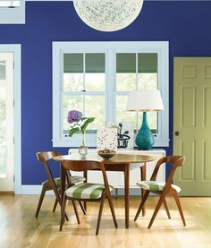 Starry Night Blue by Benjamin Moore - paint color