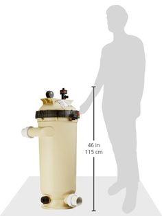 Amazon.com : Pentair 160354 Clean & Clear RP Fiberglass Reinforced Polypropylene Tank Cartridge Pool Filter, 100 Square Feet, 100 GPM (Residential) : Swimming Pool Cartridge Filters : Garden & Outdoor